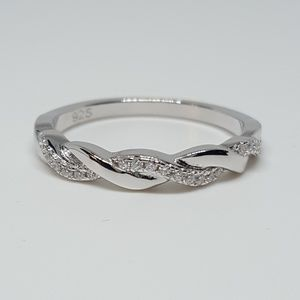 Jewelry - Sterling Silver Braided Ring